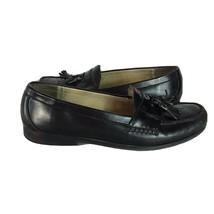 Cole Haan 3506 City Grand Black Tassel  Pinch Moc Dress Loafers Men's US... - $21.36