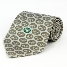 New York Jets Mens Silk Necktie NFL Football Team Logo Neck Tie Sports F... - $32.95