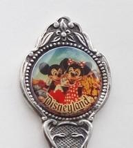 Collector Souvenir Spoon USA California Anaheim Disneyland Mickey Minnie Mouse - $9.99