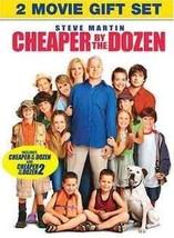 DVD - Cheaper by the Dozen - 2 Movie Giftset 2-DVD  - $14.51