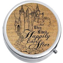 Happily Ever After Medicine Vitamin Compact Pill Box - $9.78