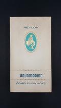 Revlon Aquamarine Complexion Soaps  Vintage Gift Set of 3 in Original Bo... - $69.00