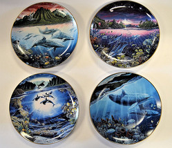 Danbury Mint Underwater Paradise Set Robert Lyn Nelson with Boxes Lot of 4 - $34.49