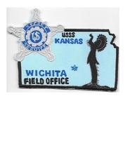 US Secret Service USSS Kansas Wichita Field Office Agent Service Patch 3.75 x 5  - $12.99