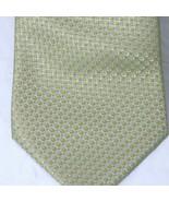 Yves Saint Laurent Tie Men Necktie Classic Green 58 inch  3.5 inch - $19.79