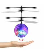 Flying Glow Light up Ball Helicopter Drone Toy for Girl 3 4 5 6 7 8 9 ye... - $29.98