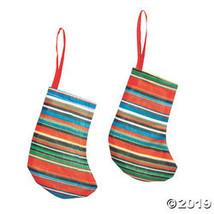 Mini Fiesta Stocking Ornaments - $25.00