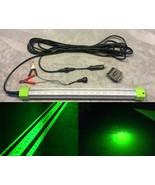 LED 12 Volt Underwater Dock & Fish Light, 100 watt, 10,368 Lumens, Accs ... - $148.49