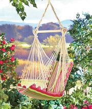Swinging Chair Hammocks ( Pink Stripe ) - $37.86