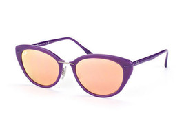 NEW Genuine Ray Ban RB4250 60342Y 52 Shiny Violet Womens Sunglasses Glasses - $69.29