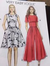 Vogue Sewing Pattern 9075 Ladies Misses Dress Jumpsuit Size 14-22 New - $19.01