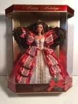 VINTAGE Barbie Happy Holidays 1997 Special Edition Doll Brunette Christm... - $18.70