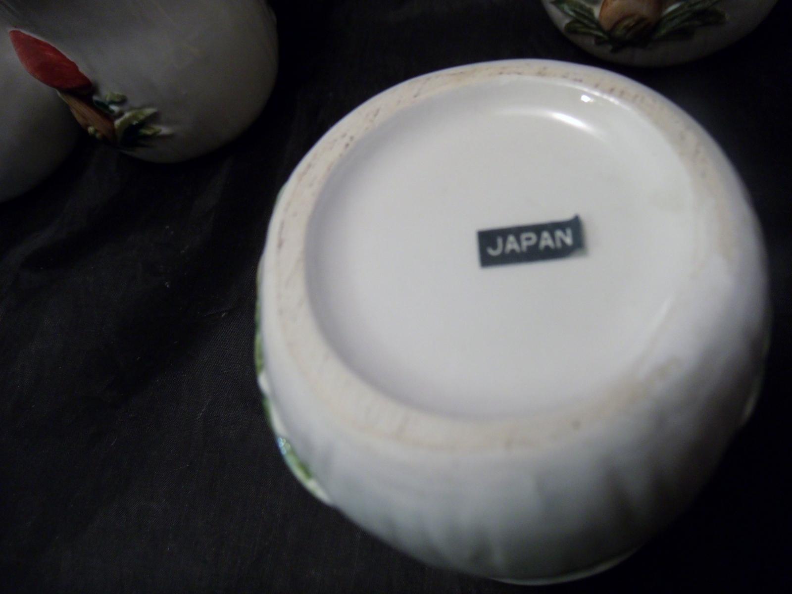 (4) Merry Mushroom Coffee Mugs- Japan