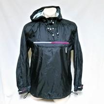 VTG 90s Tommy Hilfiger Pullover Windbreaker Jacket Flag Coat Hooded Lotu... - $119.99