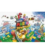Super Mario 3D World Nintendo Platform Game Series Wii U Packaging Artwo... - $26.00