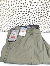 Wrangler All Terrain Gear Utility Pants 5 Pocket Straight Fit SEA GRASS 36X34   image 4