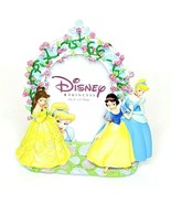 Disney Princess Photo Picture Frame Enseco 3D Style Holds 4x6 Free Standing - $30.00
