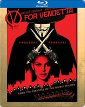 V for Vendetta Limited Edition Steelbook [Blu-ray]