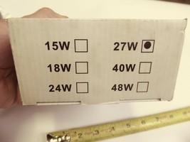 "THM 2X-LED-R-27W-FLOOD 4"" Round 27W LED Work Light Spot Light Flood Light 4 Pack image 2"