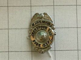 Obsolete Jerferson TWP. Franklin County Ohio Fireman Fire Department Badge - $25.00