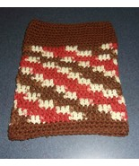 Brand New Hand Crocheted Brown Rust Dog Snood Neck Warmer For Dog Rescue... - $12.74