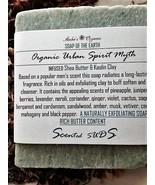 Organic Urban Spirit Myth - Men's Skin Scented/Exfoliate/Soften Soap - $4.00