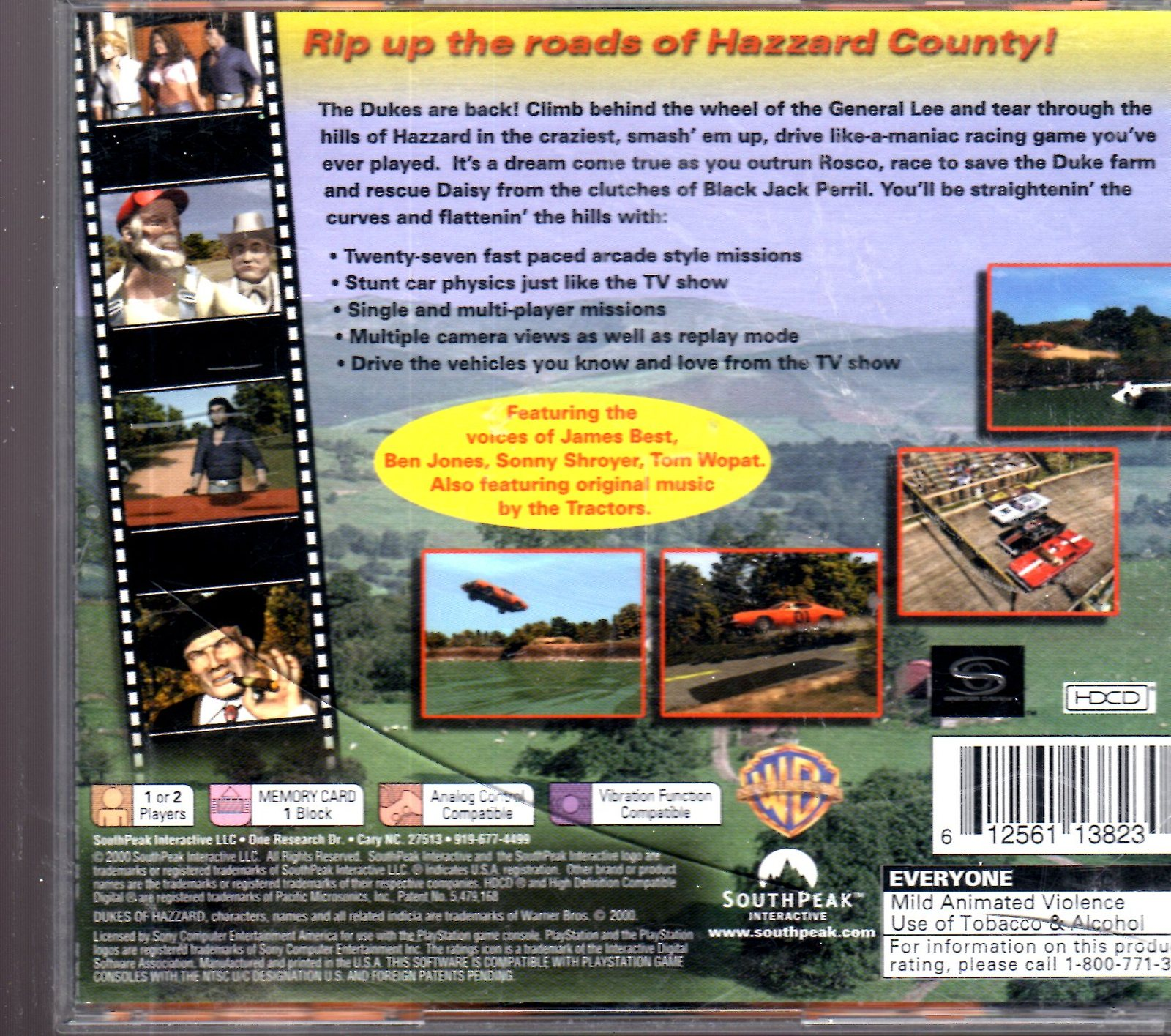 Playstation -The Dukes of Hazzard - Racing for Home