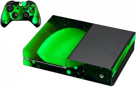 VWAQ Xbox One Lava Lamp Skin For Console And Controller Green Skin For X... - $14.99