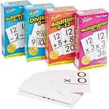 Trend Enterprises Math Operations Flash Cards Pack - Set of 4 - $33.15