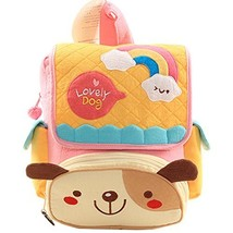 Infant Knapsack Baby Children Backpack Prevent from Getting Lost Yellow Dog