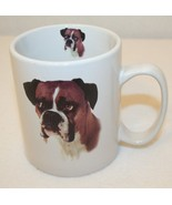 TASKETS Boxer picture 15oz Faithful Friends Noble dog breed Coffee Tea C... - $24.95