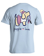 Puppie Love Rescue Dog Adult Unisex Short Sleeve Cotton Tee,Dancer Pup