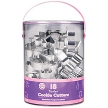 Wilton 18-Piece Easter Metal Cookie Cutter Set  - $44.00