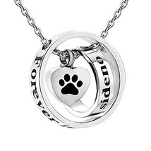 Jesse Ortega No Longer by My Side Forever in My Heart Urn Necklace for A... - $24.09