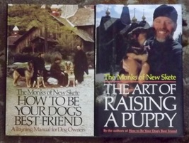 2 books The Monks of New Skete The Art of Raising a Puppy, Dog's Best Fr... - $8.00
