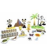 Disney Shanghai Resort Adventure Isle Bath Set 24 Pieces - $29.95
