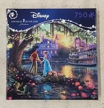 Thomas Kinkade, 750 Piece Jigsaw Puzzle The Princess and the Frog NEW - $40.00