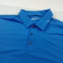 345bd95f Nike Golf Dri Fit Mens Polo Shirt Size L Large Blue Solid Short Sleeve J.  Add to cart · View similar items