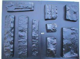 OKL-43K Limestone Veneer Rocks & DIY Supplies Kit+ 43 Molds Make 1000s of Stones image 9