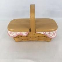 Longaberger Horizon of Hope Basket Set 2000 American Cancer Society Pink - $19.79