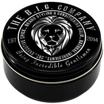 Beard Balm Leave-in Conditioner with Natural Bees Wax, Jojoba & Argan Oil - Styl image 6
