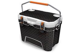 "Ozark Trail Wrap ""Fits 26qt Cooler"" 24mil Skin Full Kit Black Diamond Plate - $56.95"