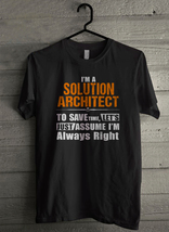 I'm a solution architect - Custom Men's T-Shirt (4212) - $19.13+