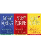 Nora Roberts CIRCLE TRILOGY Series in MASS MARKET PAPERBACK Editions Set... - $20.99