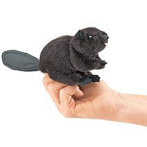 Folkmanis Mini Beaver Finger Puppet Model: 2651 - $24.16