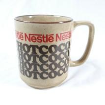Nestle Rich N Creamy Hot Coca Coffee Cup Mug Vintage Japan - $12.99