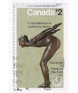 Stamps Canada 1975 Olympic Sculptures $1 & $2 A Scott 656-7 Used NH - $2.84