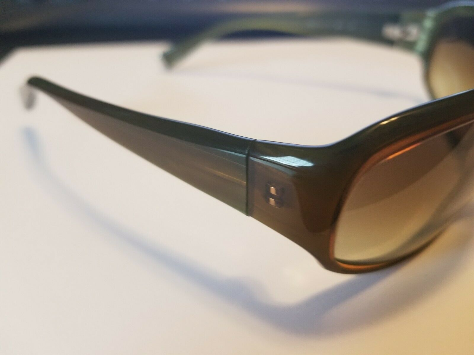 Authentic Oliver Peoples Kirra Tinted Sunglasses Brown Green 63 15-115 ..NEW image 3