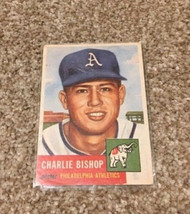 1953 Topps Charlie Bishop #186 Baseball Card - $5.99