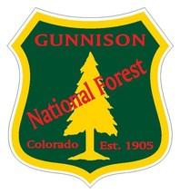 Gunnison National Forest Sticker R3243 Colorado You Choose Size - $1.45+